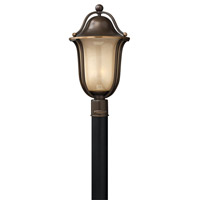 Hinkley 2631OB-GU24 Bolla 1 Light 21 inch Olde Bronze Post Lantern in GU24