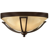 Bolla 2 Light 17 inch Olde Bronze Outdoor Flush Mount in Incandescent
