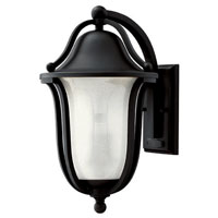 Hinkley Lighting Bolla 1 Light Outdoor Wall Lantern in Black 2634BK-EST