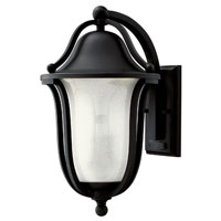 Hinkley Lighting Bolla 1 Light GU24 CFL Outdoor Wall in Black 2634BK-GU24