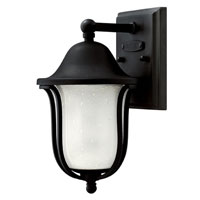 Hinkley Lighting Bolla 1 Light Outdoor Wall Lantern in Black 2636BK photo thumbnail