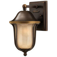 Hinkley 2636OB Bolla 1 Light 11 inch Olde Bronze Outdoor Mini Wall Mount in Incandescent