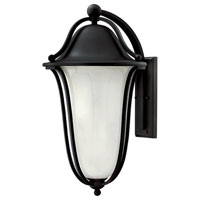 Hinkley Lighting Bolla 2 Light Outdoor Wall Lantern in Black 2639BK-ES