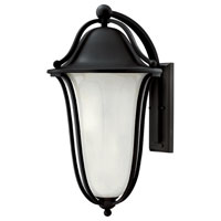 Hinkley Lighting Bolla 2 Light Outdoor Wall Lantern in Black 2639BK-EST photo thumbnail