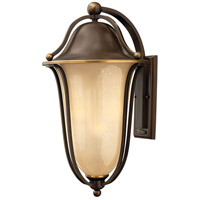 Bolla 4 Light 26 inch Olde Bronze Outdoor Wall Mount in Light Amber Seedy, Incandescent