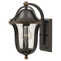 Hinkley 2640OB Bolla 1 Light 12 inch Olde Bronze Outdoor Wall Mount, Clear Seedy Glass