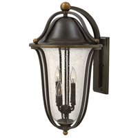 Bolla 4 Light 26 inch Olde Bronze Outdoor Wall Mount, Clear Seedy Glass
