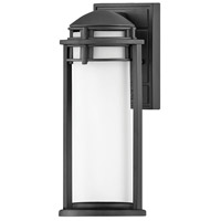 Hinkley 2670TK Annapolis 1 Light 14 inch Textured Black Outdoor Wall Mount
