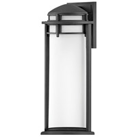 Hinkley 2674TK Annapolis 1 Light 20 inch Textured Black Outdoor Wall Mount