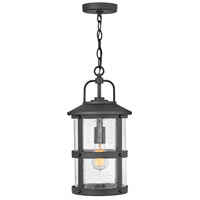 Hinkley 2682BK Open Air Lakehouse 1 Light 9 inch Black Outdoor Hanging Light