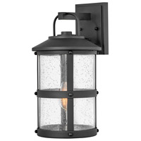 Hinkley 2684BK Lakehouse 1 Light 17 inch Black Outdoor Wall Mount Open Air