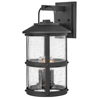 Hinkley 2685BK Lakehouse 3 Light 20 inch Black Outdoor Wall Mount Open Air