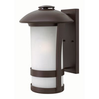 Hinkley 2705AR-GU24 Chandler 1 Light 17 inch Anchor Bronze Outdoor Wall in GU24