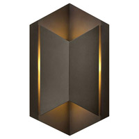 Hinkley 2714BZ Lex LED 15 inch Bronze Outdoor Wall Mount