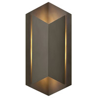 Hinkley 2715BZ Lex LED 22 inch Bronze Outdoor Wall Mount