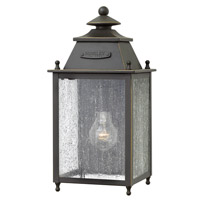 Hinkley Lighting Chatfield 1 Light Outdoor Wall in Oil Rubbed Bronze 2780OZ