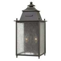 Hinkley Lighting Chatfield 2 Light Outdoor Wall in Oil Rubbed Bronze 2784OZ