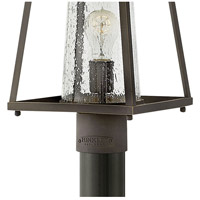 Hinkley 2791OZ-CL Burke 1 Light 16 inch Oil Rubbed Bronze Outdoor Post Mount in Clear Seedy alternative photo thumbnail