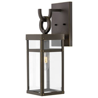 Hinkley 2800OZ Porter 1 Light 19 inch Oil Rubbed Bronze Outdoor Wall Mount, Small