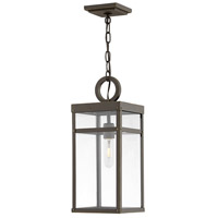 Porter 1 Light 8 inch Oil Rubbed Bronze Outdoor Hanging Lantern