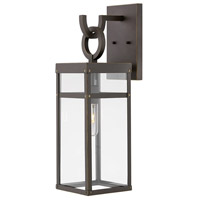 Porter 1 Light 22 inch Oil Rubbed Bronze Outdoor Wall Mount, Medium