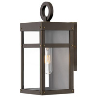 Hinkley 2806OZ Porter 1 Light 13 inch Oil Rubbed Bronze Outdoor Mini Wall Mount