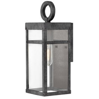 Hinkley 2806DZ Porter 1 Light 13 inch Aged Zinc Outdoor Mini Wall Mount alternative photo thumbnail