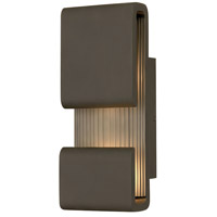 Hinkley 2810OZ Contour LED 15 inch Oil Rubbed Bronze Outdoor Wall Mount photo thumbnail