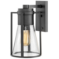 Refinery 1 Light 13 inch Black Outdoor Wall Mount