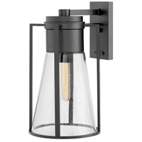 Refinery 1 Light 17 inch Black Outdoor Wall Mount
