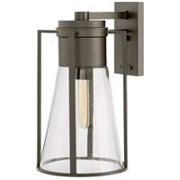 Hinkley 2825OZ Refinery 1 Light 17 inch Oil Rubbed Bronze Outdoor Wall Mount