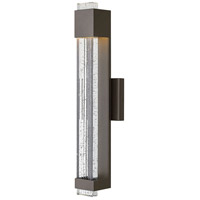 Hinkley 2834BZ Glacier LED 22 inch Bronze Outdoor Wall Mount, Medium