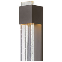 Hinkley 2835BZ Glacier LED 28 inch Bronze Outdoor Wall Lantern, Large alternative photo thumbnail