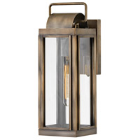Hinkley 2840BU Sag Harbor 1 Light 16 inch Burnished Bronze Outdoor Wall Mount