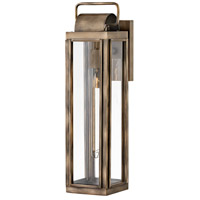 Hinkley 2845BU Sag Harbor 1 Light 21 inch Burnished Bronze Outdoor Wall Mount