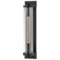 Hinkley 29064TK Pearson 1 Light 22 inch Textured Black Outdoor Wall Mount