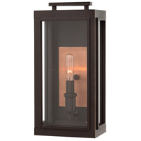 Hinkley 2910OZ-LL Sutcliffe LED 14 inch Oil Rubbed Bronze/Antique Copper Outdoor Wall Mount, Small