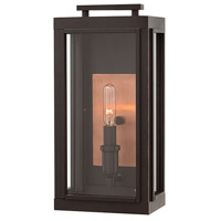 Hinkley 2910OZ Sutcliffe 1 Light 14 inch Oil Rubbed Bronze/Antique Copper Outdoor Wall Mount in Incandescent Small