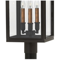 Hinkley 2911OZ Sutcliffe 3 Light 20 inch Oil Rubbed Bronze Outdoor Post Mount in Candelabra alternative photo thumbnail