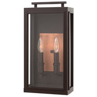 Hinkley 2914OZ-LL Sutcliffe LED 17 inch Oil Rubbed Bronze/Antique Copper Outdoor Wall Mount, Medium