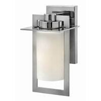 Colfax 1 Light 12 inch Polished Stainless Steel Outdoor Wall in Etched Opal, GU24, Etched Opal Glass