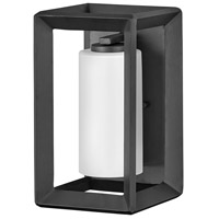 Hinkley 29300BGR Open Air Rhodes 1 Light 13 inch Brushed Graphite Outdoor Wall Mount