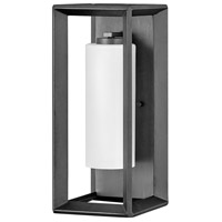 Hinkley 29302BGR Rhodes 1 Light 17 inch Brushed Graphite Outdoor Wall Mount Open Air
