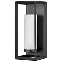 Hinkley 29309BGR Open Air Rhodes 1 Light 22 inch Brushed Graphite Outdoor Wall Mount
