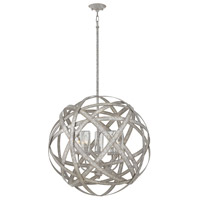 Hinkley 29705WZ-LL Open Air Carson LED 27 inch Weathered Zinc Outdoor Chandelier