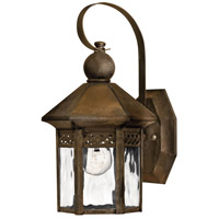 Westwinds 1 Light 12 inch Sienna Outdoor Mini Wall Mount