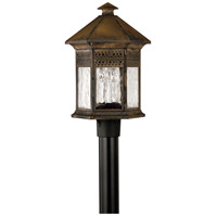 Hinkley 2991SN Westwinds 3 Light 21 inch Sienna Outdoor Post Mount, Post Sold Separately