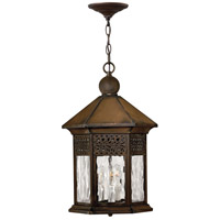 Hinkley Lighting Westwinds 3 Light Outdoor Hanging Lantern in Sienna 2992SN photo thumbnail