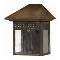 Hinkley Lighting Westwinds 1 Light Outdoor Wall Lantern in Sienna 2993SN photo thumbnail
