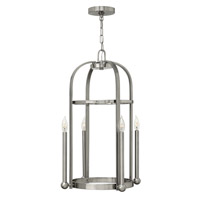 Hinkley Lighting Landon 4 Light Foyer in Brushed Nickel 3014BN